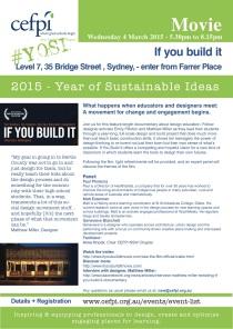 Event Flyer. Link to registration information